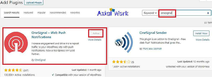 Wordpress me onesignal bell notification icon kaise lagaye