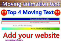 Slider text animation css coding free download in Hindi