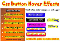 Download button css with hover effect