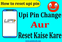How to change upi pin | How to reset upi pin in hindi