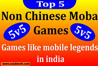 Games like mobile legends in india | 2022 best moba games