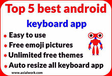Top 5 best keyboard app for android
