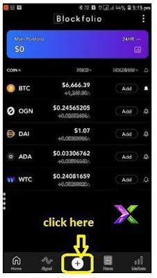 Blockfolio app me crypto alert kaise lagaye