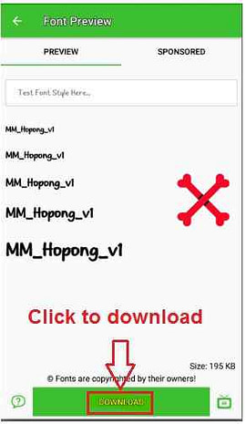 Zfont app ko android mobile me kaise use kare (Download fonts for android)