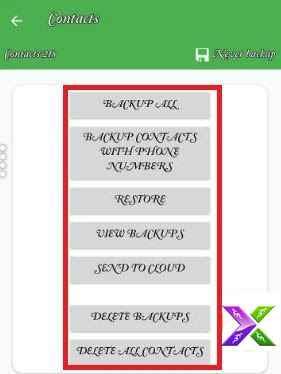 Mobile me contacts list ka backup kaise lete hai