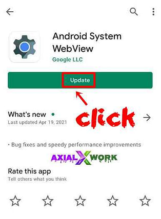 What is android system webview in hindi