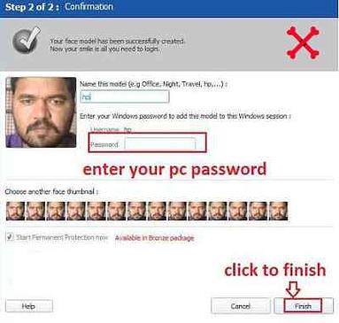 Computer me face lock kaise lagaye