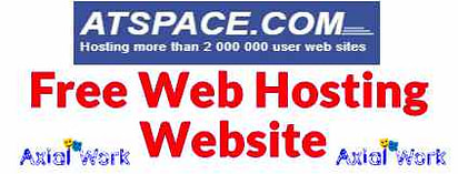 Atspace free web hosting website