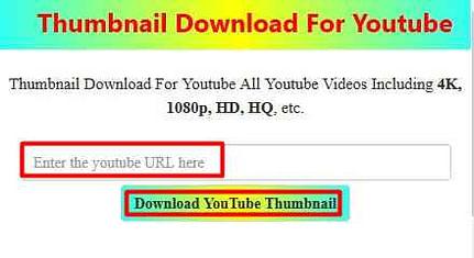 FREE HD YouTube Thumbnail Downloader