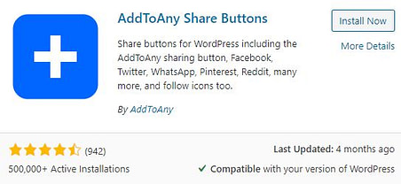 Add To Any Share Buttons