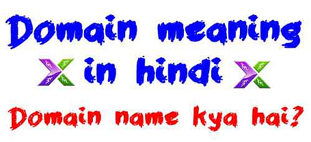 Domain name meaning in hindi