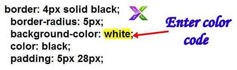 Button ka background colour kaise change kare