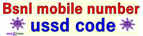 Bsnl mobile number check