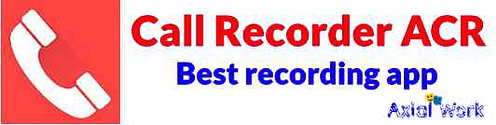 Coll Recorder ACR best call recording app for android
