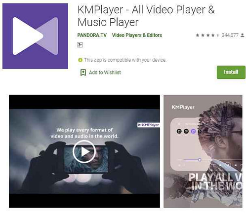 Top 5 Best video player for android