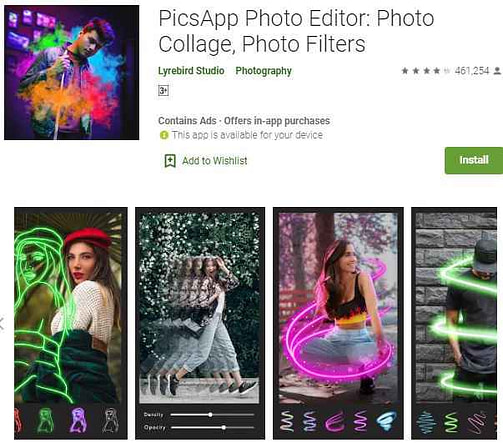Top 10 best photo edit karne wala apps | फोटो एडिटिंग ऐप
