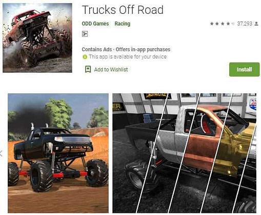 Trucks Off Road (Monster truck game download)