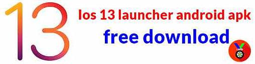 Ios 13 launcher apk android best launcher app