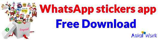 WhatsApp stickers app ko download kaise kare