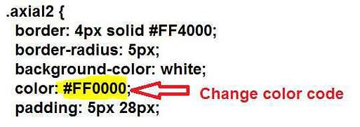Fire button me text colour kaise change kare-