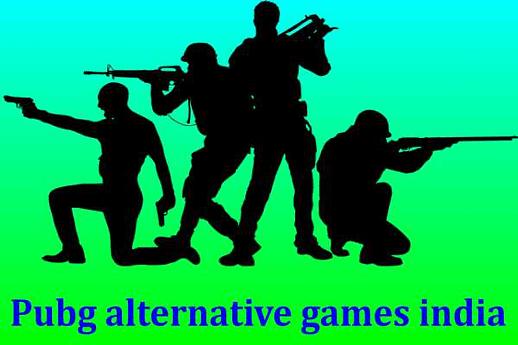 Top 5 Pubg alternative games india