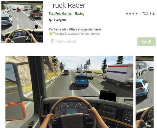 Truck racer Truck wala game
