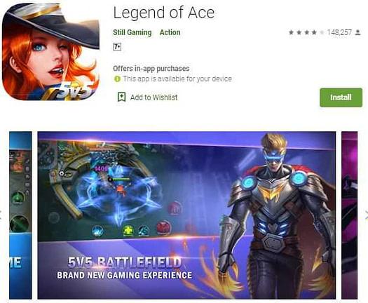 Legend of ace – 5v5 games