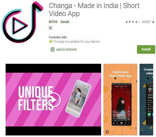 tiktok jaisa indian app | भारतीय ऐप कौन-कौन से हैं