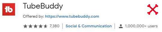Tube Buddy best google chrome extension