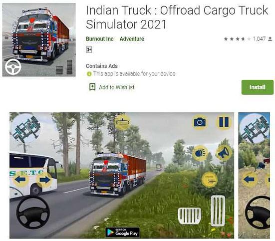 Indian Truck : Offroad Cargo Truck Simulator 2021