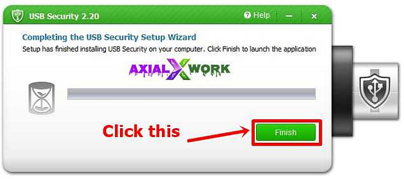 how to put password for pendrive