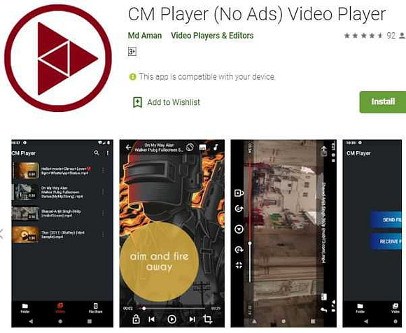 CM Player 2020 latest new video player