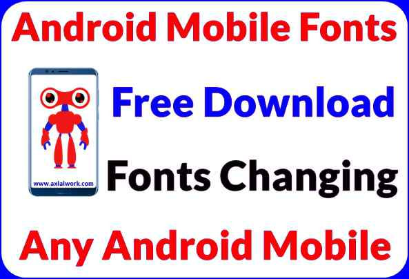 download fonts for android & mobile fonts kaise change kare