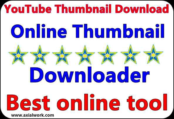 FREE HD YouTube Thumbnail Downloader in hindi