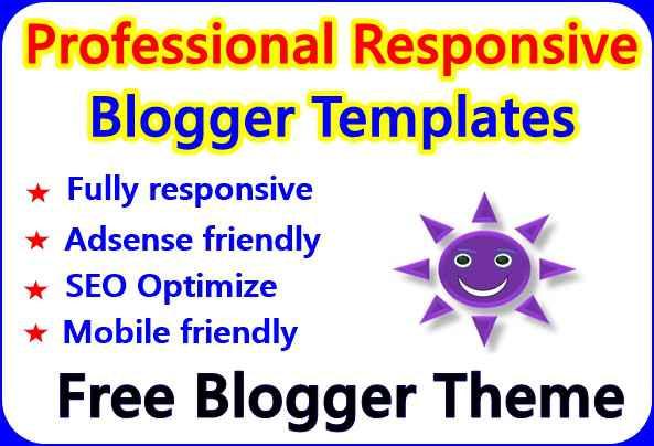 adsense responsive blogger template