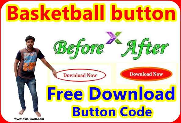 Download html button code basketball button