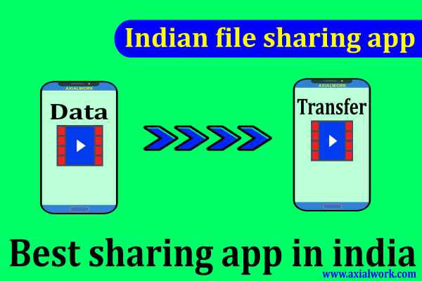 Indian file sharing app | best sharing app in india