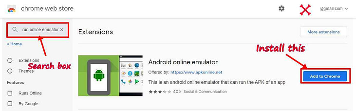 free download online android emulator