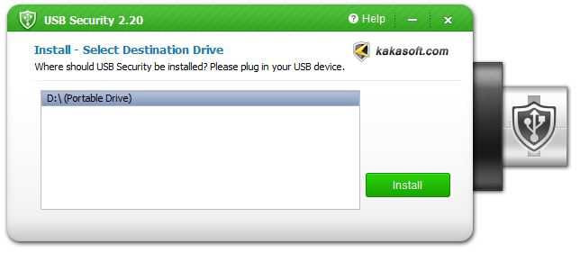 how to put password on pendrive